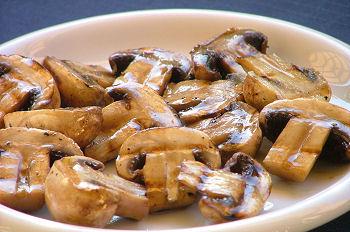 funghi grigliati