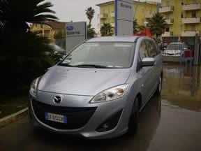 Mazda 5 fronte