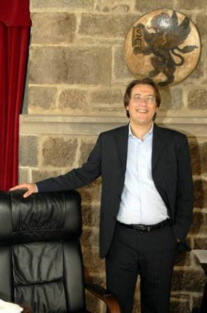 Andrea Vignini sindaco di Cortona